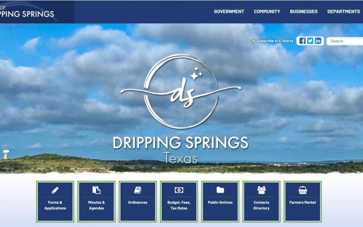shot of our website