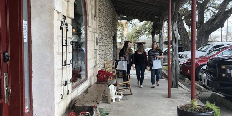 Mercer Street is part of the vitality of Dripping Springs